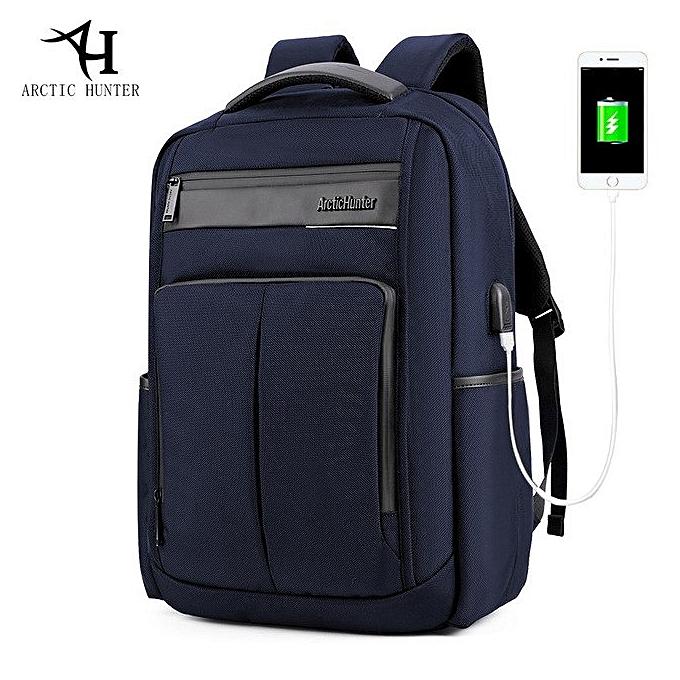54bc2643bc20 ARCTIC HUNTER Laptop Backpack,Anti Theft Bag With USB Charging Port For Men  & Women, Smart Bag, Water Resistant Backpack School Bag, Large Capacity ...