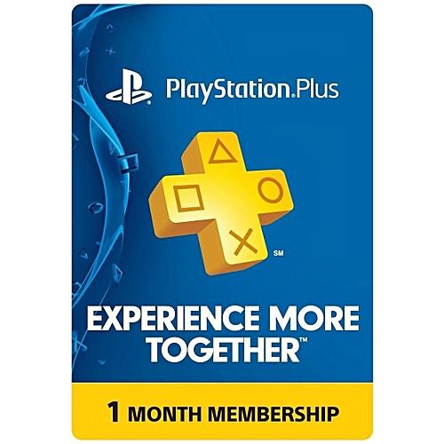 1 Month PlayStation Plus Membership PS3-PS4-PS-Vita - USA