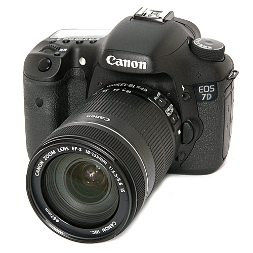 CANON 7D WITH 18-135MM LENS