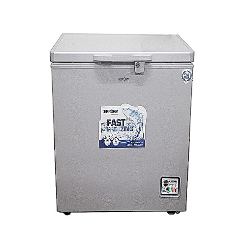 100-Litre Glory Series Chest Freezer BCF-SD100F - Silver