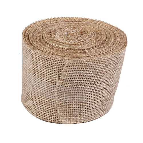 10M Linen Ribbon Rustic Style Vintage Decoration For Crafts Gardening Wedding
