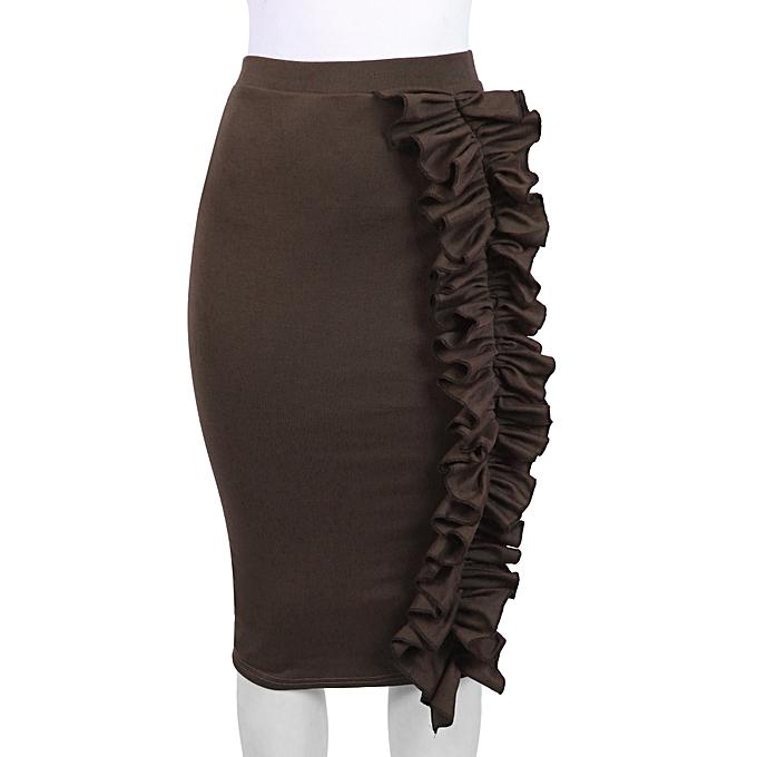 64422381ec 21 Attire Brown Ruffle Skirt | Jumia NG