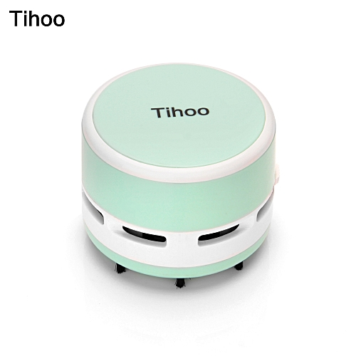 Tihoo Portable Mini Desktop Table Vacuum Cleaner Dust Collector Sweeper For Laptop PC Keyboard Office Clean Brushes Car Cleaning Tools
