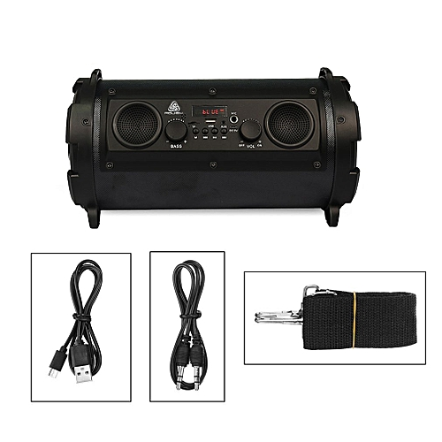 15W LCD Wireless Bluetooth Speaker Stereo Super Bass Subwoofer FM AUX TF