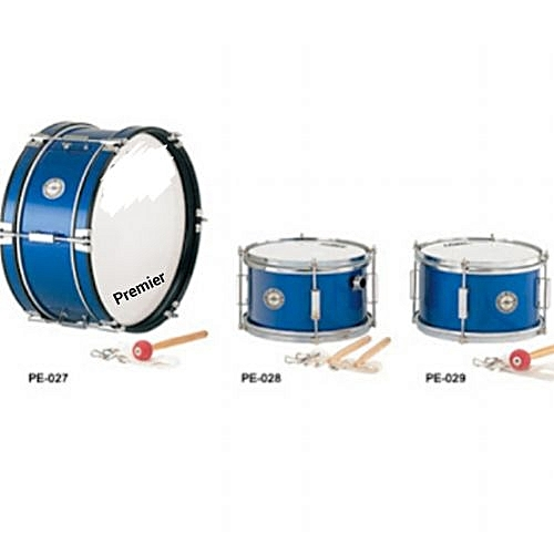 School Drum With Accessories- 3 Pieces
