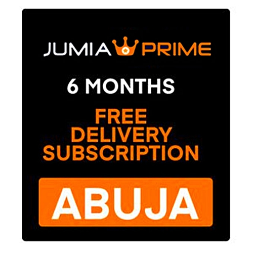 Jumia Prime - Free Delivery Abuja – 6 Months Subscription