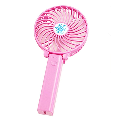 Mini Rechargeable Usb Hand Fan -Pink