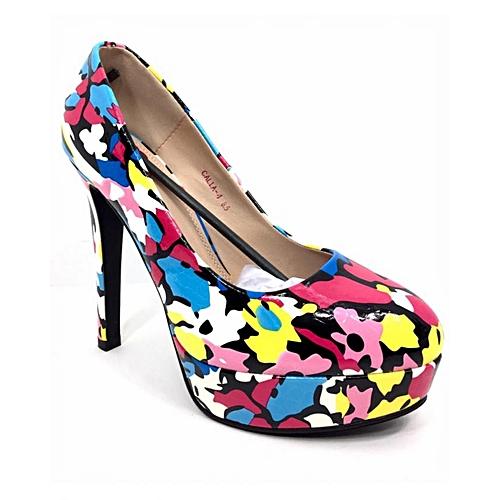 Bettie Page Calla-4 Platform Heels