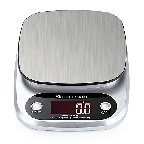Generic Accurate Digital Kitchen Scale 10kg 1g Small Food Scale Gram