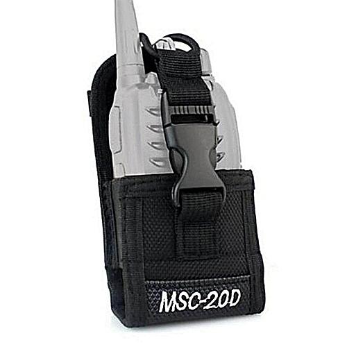 HT MSC-20D Walkie Talkie Bag&Nylon Radio Case Holster For Handheld Baofeng UV-5R