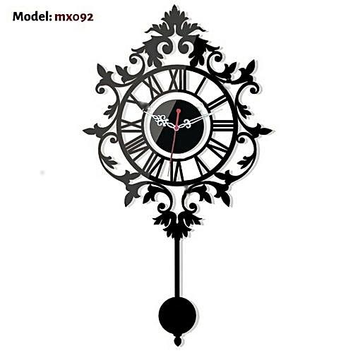 Antique 3D Wall Clock - Mx092