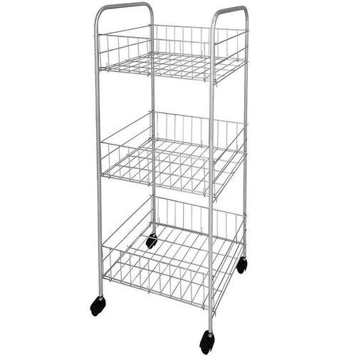 3 Tier Storage Cart With Wheel