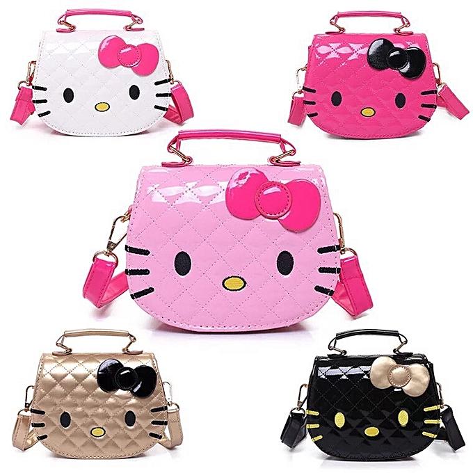 1a7119adc8fb Fashion Hello Kitty Cartoon Shoulder Handbag Cute Sling Bag Tote Beg ...