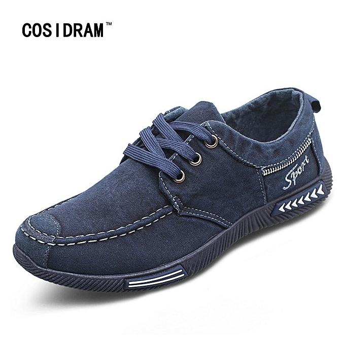 c24cd6918bdf Canvas Men Shoes Denim Lace-Up Men Casual Shoes New 2017 Plimsolls  Breathable Male Footwear