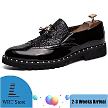 140e78350 EUR Size 38-44 New Arrival Men Shoes Brogues Loafers British Style Tassel  Leather Shoes