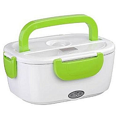 Electric Lunch Box/Food Flask - Green