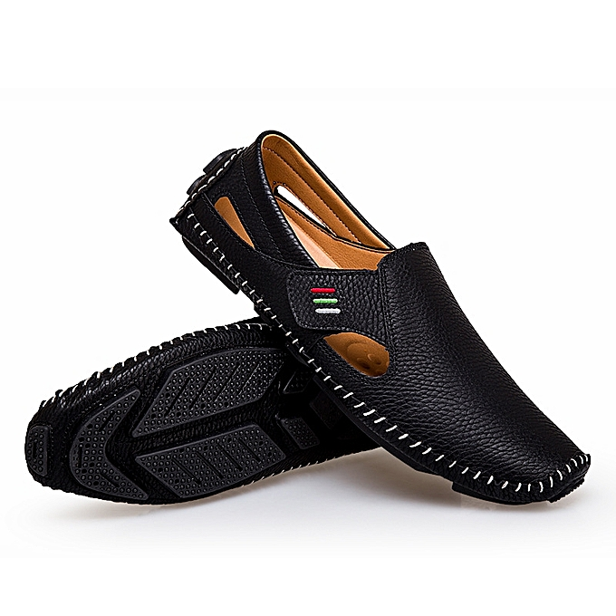 4a870144ba25d9 Longo 37-48 Men's Casual Fashion Shoe Loafers Slip-Ons Shoes-Black ...