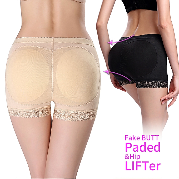 59363d15669 Breathable Lace Pattern High Elastic Hip Butt Lifting Shapewear Butt Lifter  Padded Panties Mid Waist Underwear