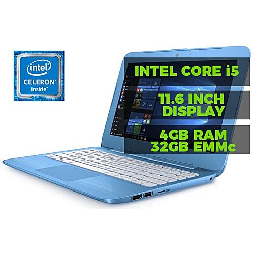 Stream 11 Intel Celeron (4GB,32GB+ 32GB Flash+ Mouse+ USB Light For Keyboard) SSD11.6Inch Wins 10