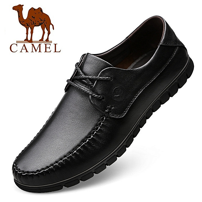7331578fcf19 Autumn Genuine Leather Shoes Men Casual Moccasins Mens Frenulum Loafers  Breathable Driving Brown Shoes