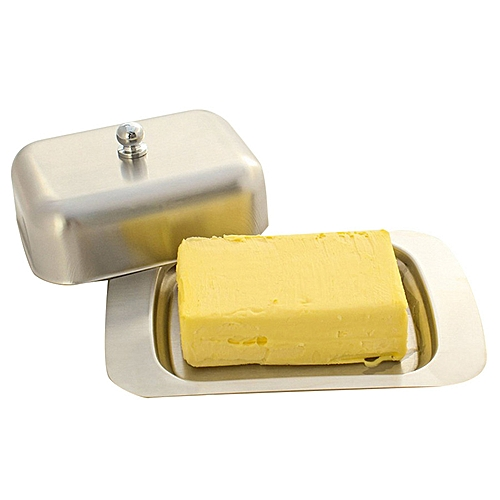 Butter Dish Box Container Cheese Holder Fridge Storage