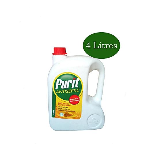 Purit Antiseptic Liquid Disinfectant 4 Litres