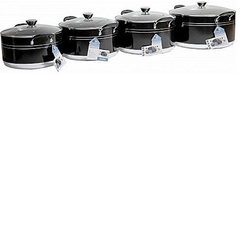 4 Set Large Cooking Pots