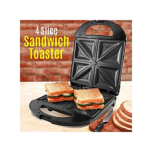 4 Bread Slice Toaster Sandwich Maker