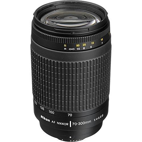 70-300mm Zoom-NIKKOR F/4-5.6G Lens For Digital Cameras