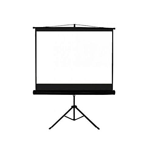 Projector Screen 72'' X 72'' Tripod - White