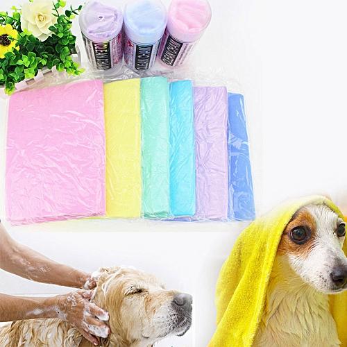 Pet Quick Absorbent Bathing Clean Towel PVA Cloth 66*43CM