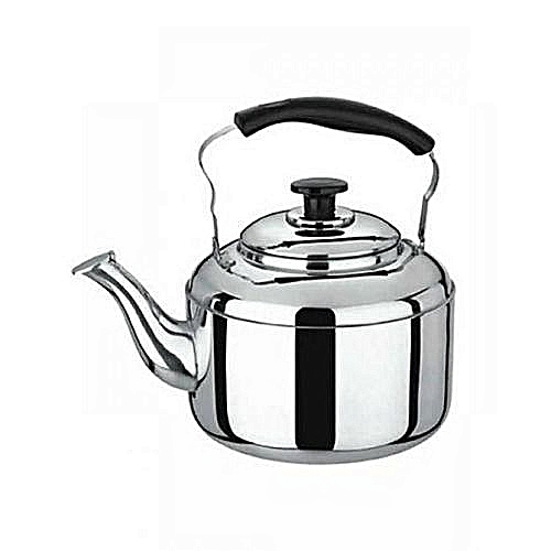 Generic Generic 5 Ltr Whistling Kettle - Silver