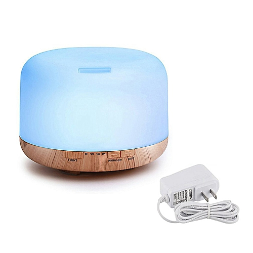 Air Aroma Diffuser Ultrasonic Humidifier Oil Cool Mist Humidifier Purifie White US Plug