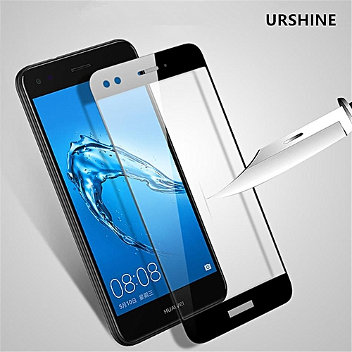 3D Protective Film For Huawei Nova 2 Plus Tempered Glass Screen Protector  Full Screen Coverage Anti-Scratch Bubble Free Glass Guard Film For Huawei