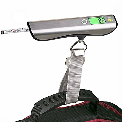 Loskii KG-100 Poratble High Accuracy 50kg Digital LCD Stainless Steel Capacity Hand Carry SCALE