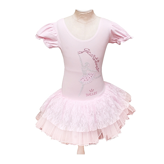 d1be6cc3e Barbie Dress Cute Girls Ballet Tutu Dress- Dancing Costume-pink ...