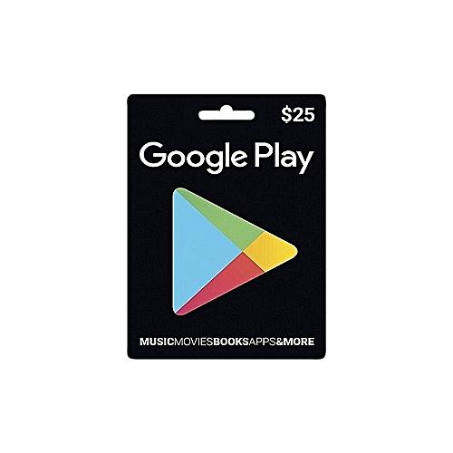 $25 Google Play Gift Card