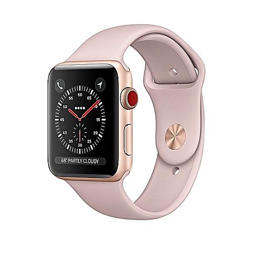 Apple  Apple I Watch Series 3 38mm Gold Aluminium Pink (GPS + Cellular)