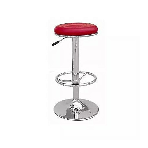 Adjustable Height Bar-stool With Caster Wheels