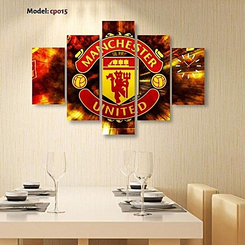 Customized Manchester United 3d Wall Clock Mx995
