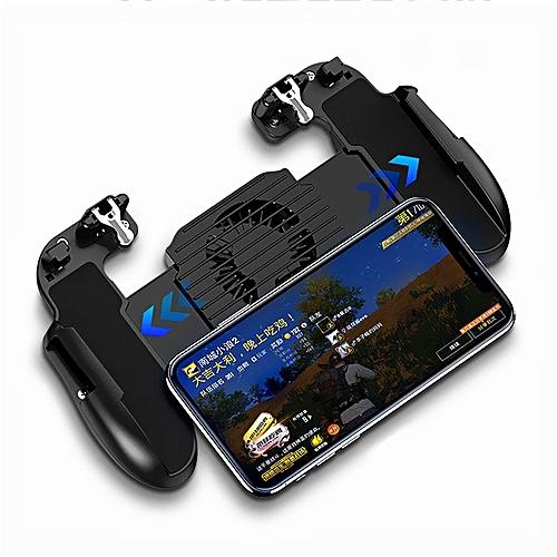 Mobile Game Controller Cool Fan PUBG Rigger Joystick BLACK