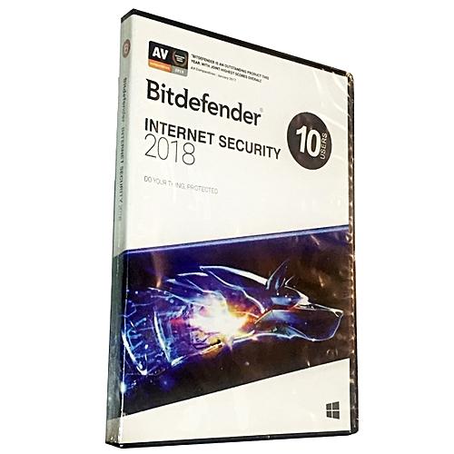 Internet Security 2018 - 10 PCs