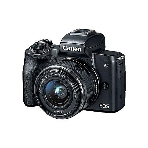 EOS M50 EF-M Digital Camera 15-45mm IS STM Kit With EF Mount