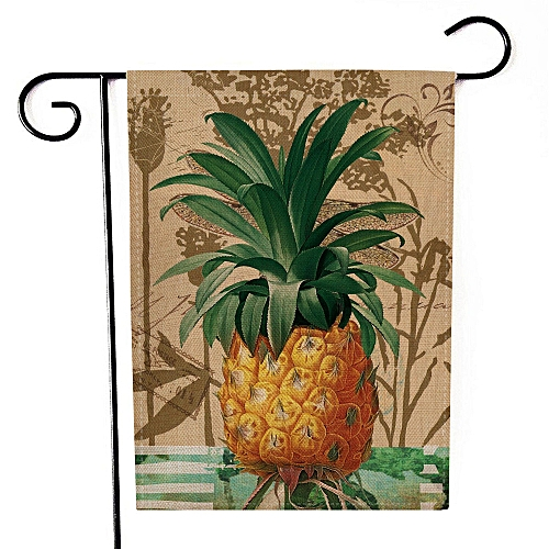 Dtrestocy Garden Flag Indoor Outdoor Home Decor Letters Flowers Flag