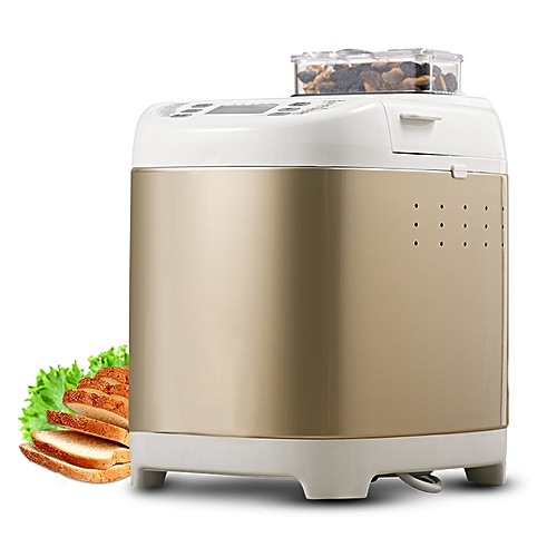 ....Stainless Steel Toaster Automatic Sprinkle Fruit Intelligent Baking Bread Maker Home Breadmaker Yogurt Cake Making Machine