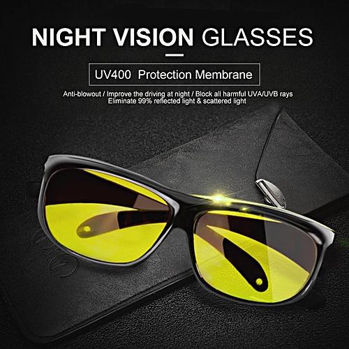 UV Protection Night Vision Sport Driving Sunglasses