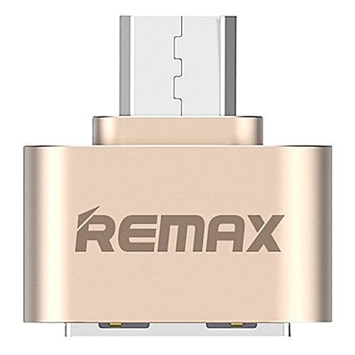Remax Ra-OTG Micro USB Connector For Samsung/HTC(Gold) XJMALL