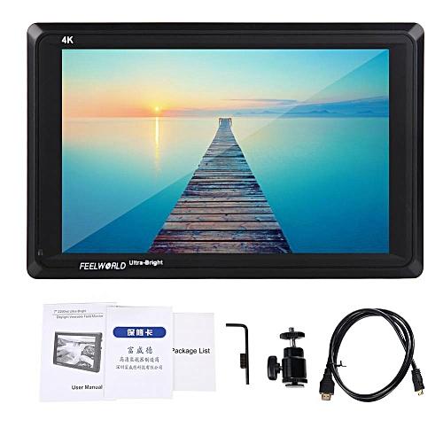 Feelword FW279S 7in 2200nit Ultra Bright 3G SDI 4K HDMI Camera Monitor