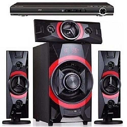 3.1ch Powerful Home Theatre System With Bluetooth + DVD Player