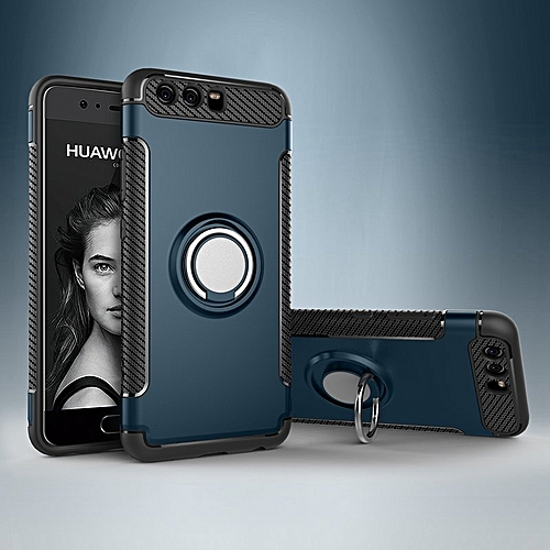 For Huawei P10 Cover Magnetic Suction Case With Metal Finger Ring Bracket Armor For Huawei P10 Car Phone Casing Housing With Phone Ring Holder 321103 C-6 (Color:Main Picture)